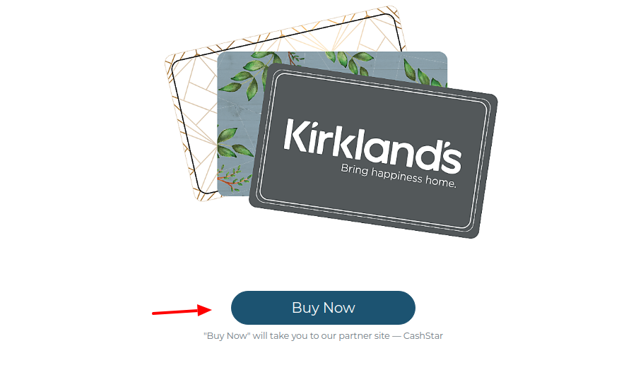 Kirklands Gift Card Buy